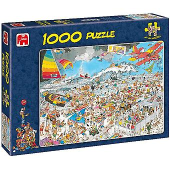 Puzzel 1000 Stukjes Jvh At The Beach