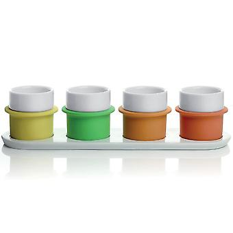 Lexon Boly Espresso Coffee Cup Set