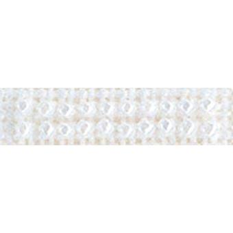 Mill Hill Petite Glass Seed Beads 2mm 1.6g-White PGBD-40479