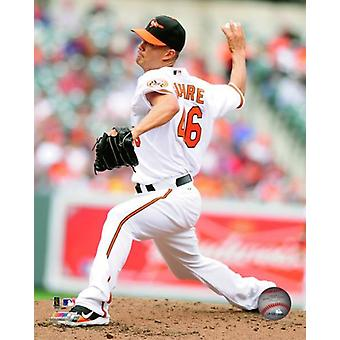 Jeremy Guthrie 2011 Action Photo Print
