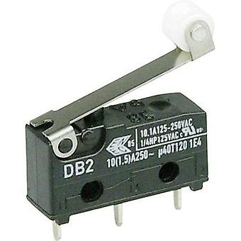 Microswitch 250 Vac 10 A 1 x On/(On) Cherry Switches DB2C-C1RC momentary 1 pc(s)