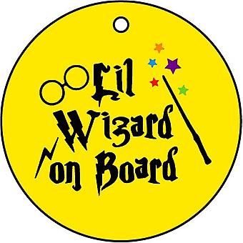Lil Wizard On Board Car Air Freshener
