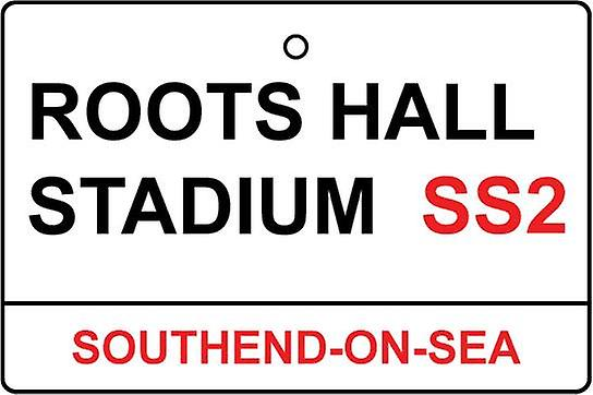 Southend / Roots salle Stadium Street Sign Désodorisant