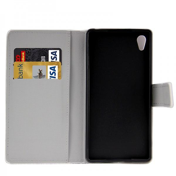 Pocket Wallet Premium pattern 9 for Sony Xperia Z3 Plus