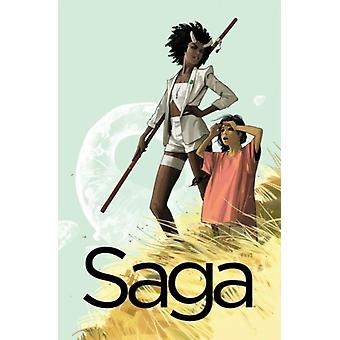 Saga Volume 3 (Paperback) by Vaughan Brian K. Staples Fiona
