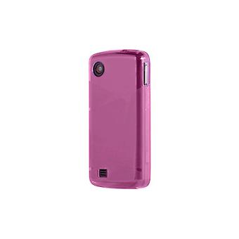 OEM Verizon LG Chocolate Touch VX8575 High Gloss Silicone Case - Pink (Bulk Pack