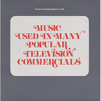 Music Used in Many Popular Television Commercials - Music Used in Many Popular Television Commercials [CD] USA import