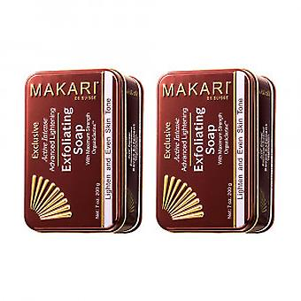 Makari Exclusive Exfoliating Soap - 2 Bars