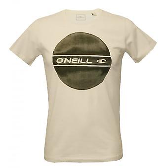 O'Neill cirkel Logo Placement T-Shirt, vit