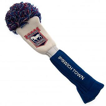 Ipswich Town Headcover Pompom (Driver)