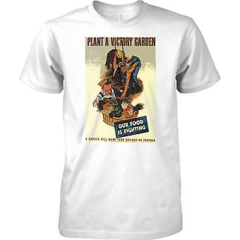 Plant a Victory Garden - WW2 Propaganda - Allied World War - Kids T Shirt