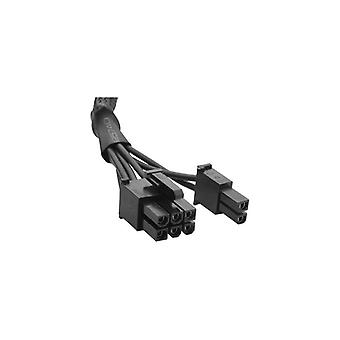 Corsair Type 3 Sleeved black PCI-E cable- compatible with all Corsair type 3 pin out PSU