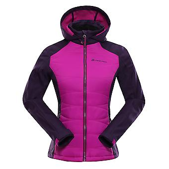 Alpine Pro Lady jacket PERKA black/pink