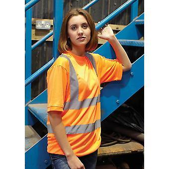 Yoko Hi-Vis Short Sleeve T-Shirt-HVJ410