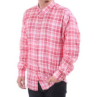 Ted Baker Mens Mens Reg Fit L/s Shirt Quarter Ted Baker