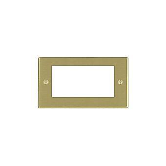 Hamilton Litestat Hartland Satin Brass 4 Euro Apert 100X50+Grid