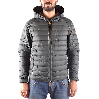 Save the duck men's MCBI269050O green polyester Quilted Jacket