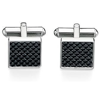 Stainless Steel Fiber Fashionable Cufflink
