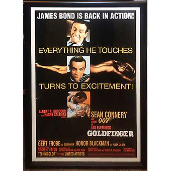James Bond: Goldfinger - Signed Movie Poster