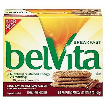 الإفطار بيلفيتا لدغ قرفة سكر بني