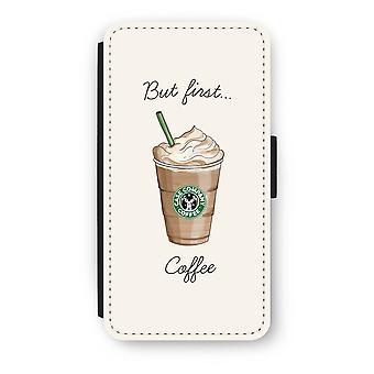 iPod Touch 6 Flip Case - men første kaffe
