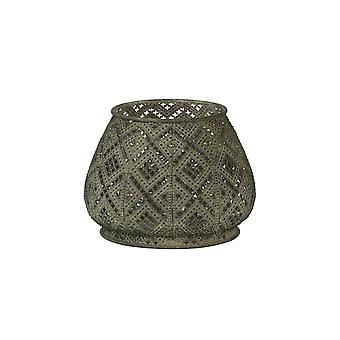 Light & Living Tealight Ø16,5x12,5 Cm MAWAR Antique Green