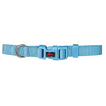 Nayeco Basic Dog Collar Blue Size L (Dogs , Collars, Leads and Harnesses , Collars)