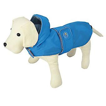 Nayeco Raincoat Dog Dancing Rain Blue 40 cm (Dogs , Dog Clothes , Raincoats)