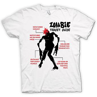 Womens T-shirt - Zombie Target Guide - Funny