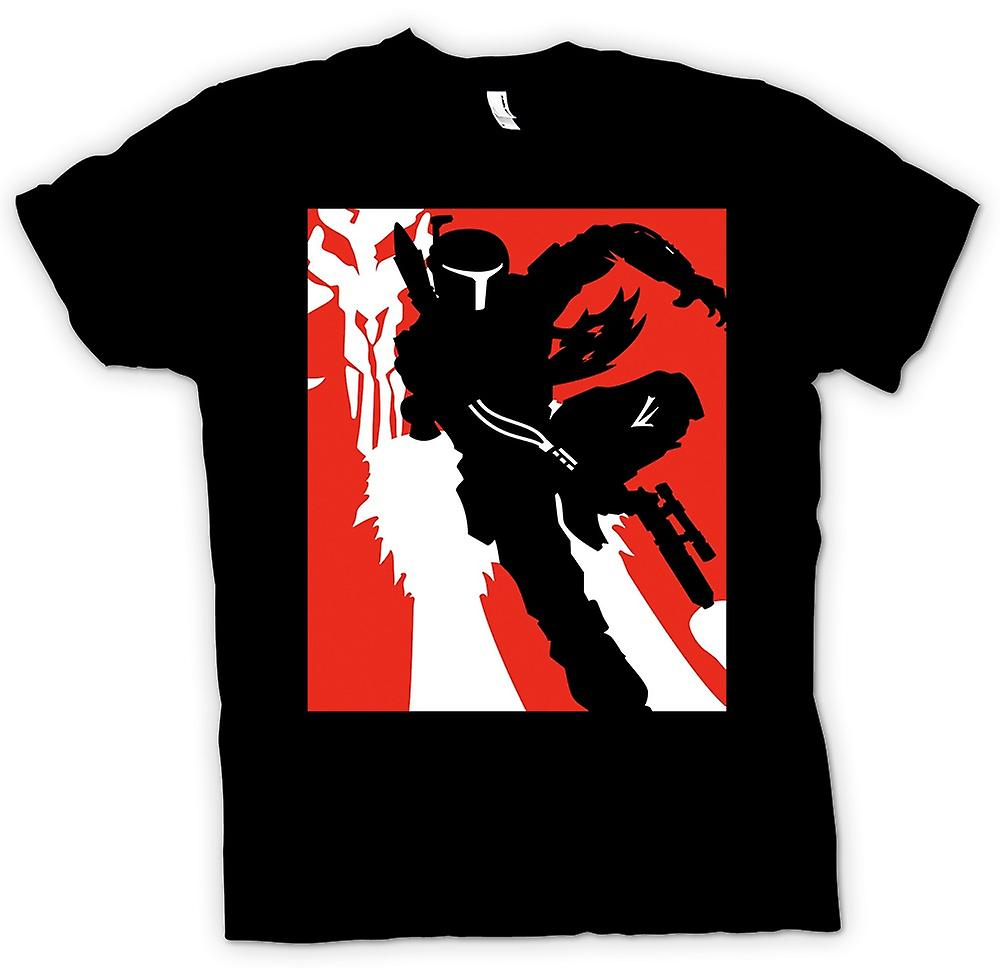 T-shirt-Star Wars - Bobba Fett - Pop Art