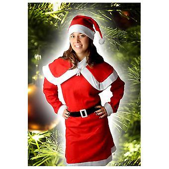 Kvinnor kostymer kvinnor jul klänning Jingle