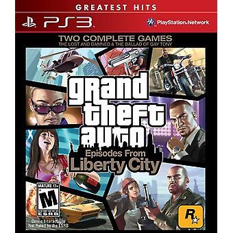 Grand Theft Auto episoder från Liberty City (PS3) [US importera]