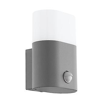 Eglo Al LED Wall Light M.Sensor Silber/Ws Favria
