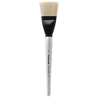 Daler Rowney Graduate XL Brush White Bristle Flat - Size 60