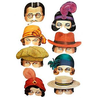 Roaring Twenties Eye Mask Assortiment (8)