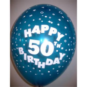 Balloner HAPPY 50 års fødselsdag