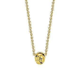Joop kvinnors kedja halsband rostfritt stål guld omfamning JPNL10597B420