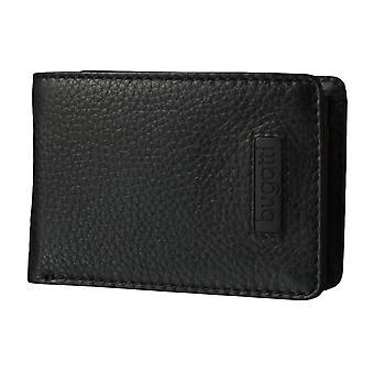 Bugatti mini sac à main coin purse portefeuille carte support noir 3577