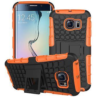 Hybrid case 2 piece SWL robot Orange for Samsung Galaxy S6 edge plus SM G928 F