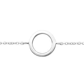 Cirkel - 925 Sterling zilveren ketting armbanden - W34945X