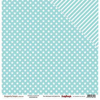 Scrapberry's Elegantly Simple Double-Sided Cardstock 12