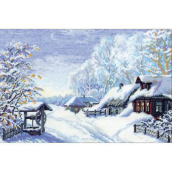 Russian Winter Counted Cross Stitch Kit-15