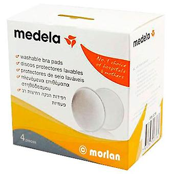 Medela Washable Absorbent Discs 4 Units