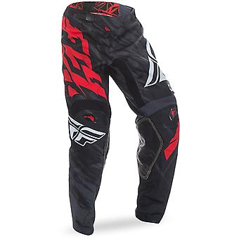 Fly Racing Black-Red-White 2017 Kinetic Relapse Kids MX Pant