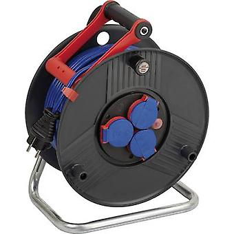 Brennenstuhl 1209830 Cable reel 50 m Blue PG plug