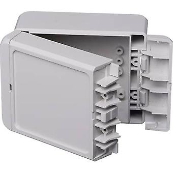 Bopla Bocube B 100806 ABS-7035 Wall-mount enclosure, Build-in casing 80 x 113 x 60 Acrylonitrile butadiene styrene Light grey (RAL 7035) 1 pc(s)