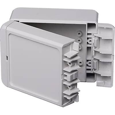 Bopla Bocube B 100806 ABS-7035 Wall-mount enclosure, Build-in casing 80 x 113 x 60 Acrylonitrile butadiene styrene Light grey (RAL 7035) 1 pc(s)
