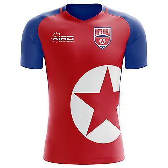 Het voetbalshirt thuis Concept van 2018 - 2019 Noord-Korea (kinderen)