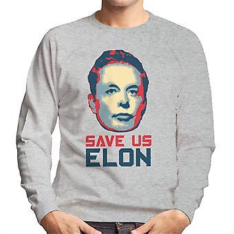 Save Us Elon Men's Sweatshirt