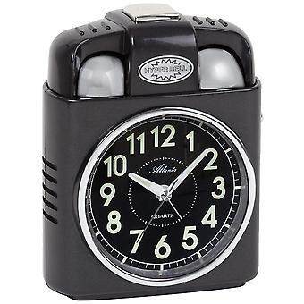 Atlanta 1947/4 alarm clock quartz analog light snooze Bell signal Bell